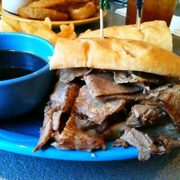 French Dip Sandwich - Manhattan in the Desert - Palm Springs, Palm Springs, CA
