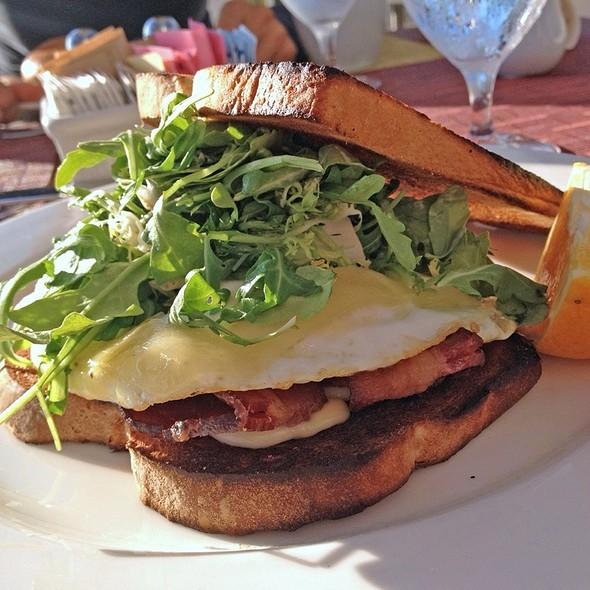 egg sandwich - Fuego - Maya Hotel, Long Beach, CA