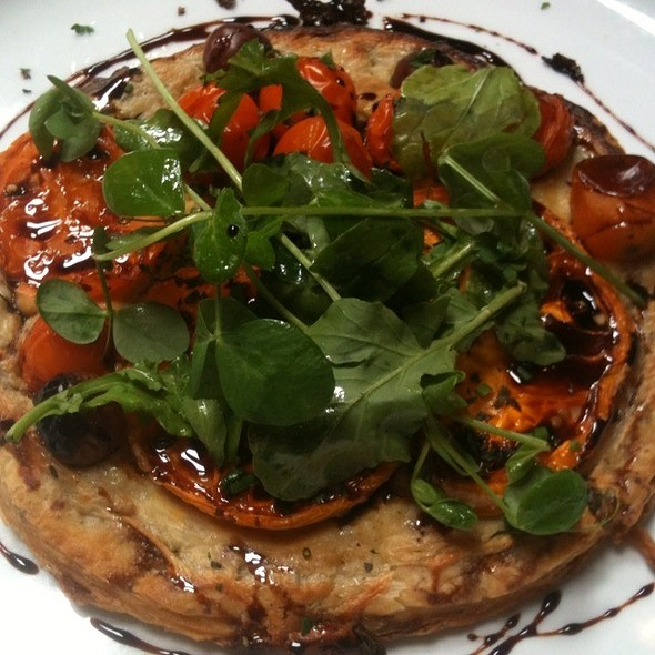 Baked Heirloom Tomato Tart - Late Harvest Kitchen, Indianapolis, IN