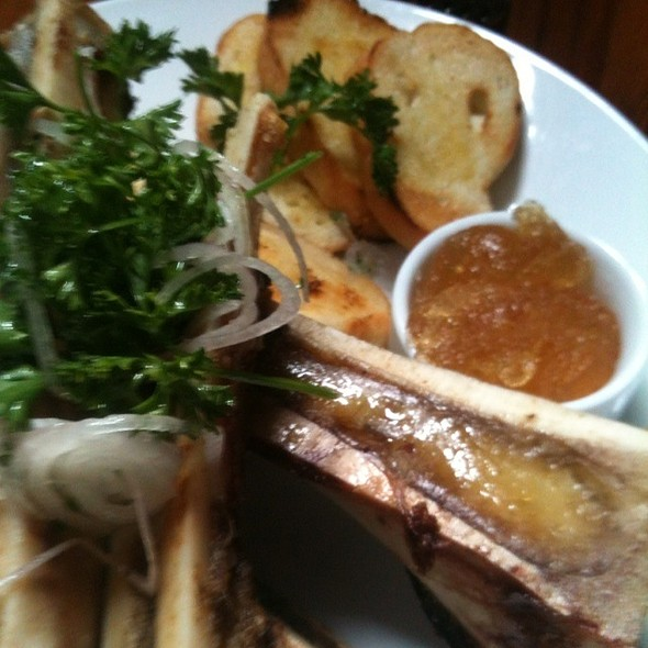 Roasted Beef Bone Marrow - Late Harvest Kitchen, Indianapolis, IN
