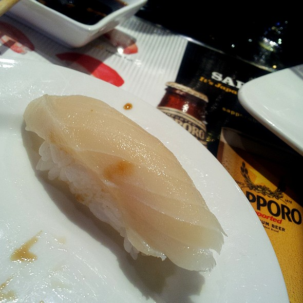 Escolar Nigiri - Cafe Ginger, Houston, TX