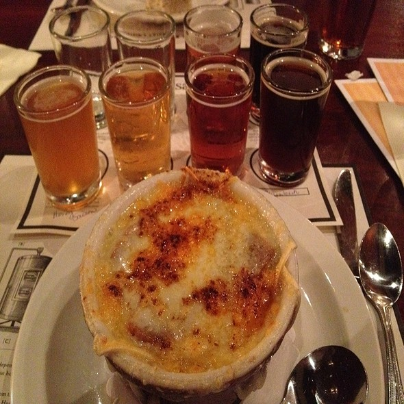 French Onion Soup - Iron Hill Brewery - Phoenixville, Phoenixville, PA