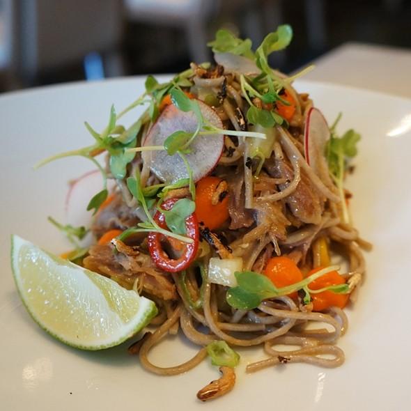 Duck Confit Salad - Hawksworth Restaurant, Vancouver, BC