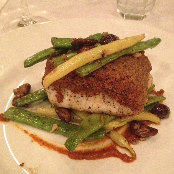 Halibut With Porcini Mushrooms - Tierra Sur at Herzog Wine Cellars, Oxnard, CA