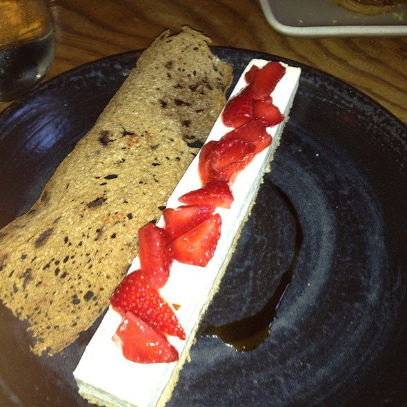 strawberry shortcake - Plum Bar + Restaurant, Oakland, CA