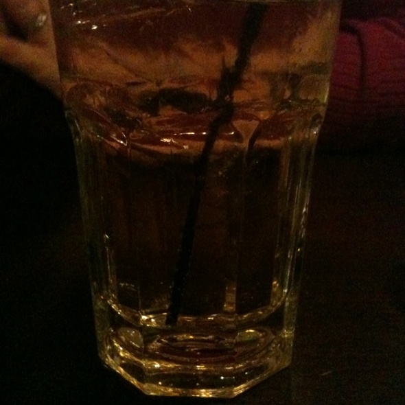 Bourbon & Ginger Ale - Southern Lights Bistro, Greensboro, NC
