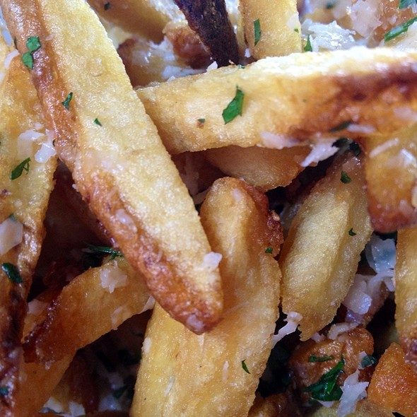 Truffle Parmesan Fries - The Six - Studio City, Studio City, CA