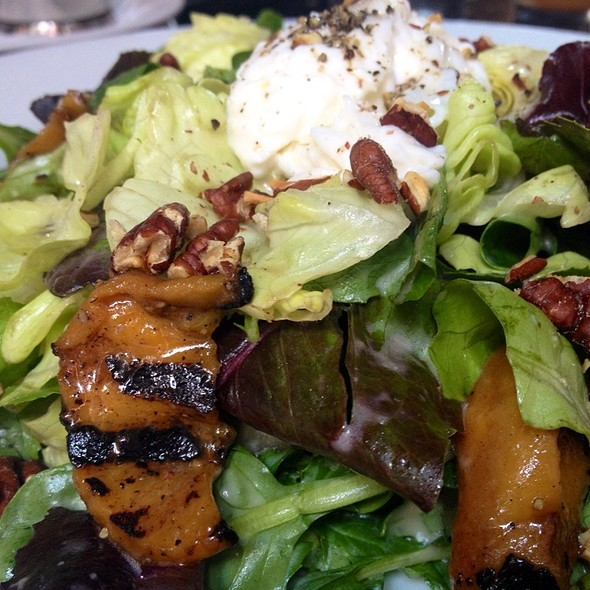 Peach Salad With Burrata - The Six - Studio City, Studio City, CA