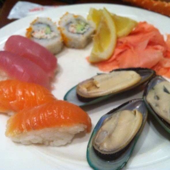 Assorted Sushi - Oceanarium Restaurant, Honolulu, Hawaii