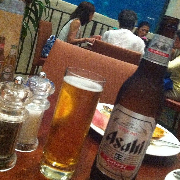 Asahi - Oceanarium Restaurant, Honolulu, Hawaii