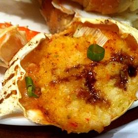 Stuffed Crab - Oceanarium Restaurant, Honolulu, HI