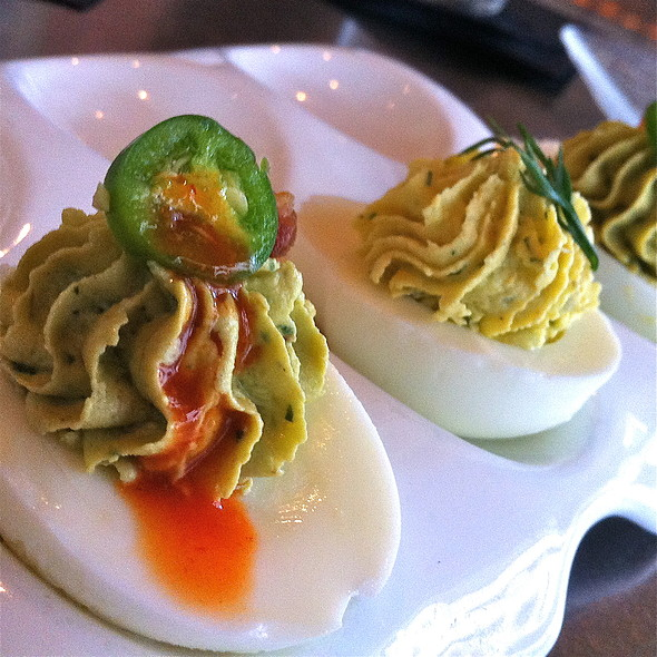 Deviled Eggs - Z Grille, St. Petersburg, FL