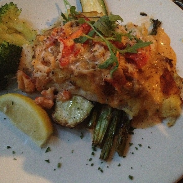 Potato Crusted Haddock With Lobster Sauce - McKelvies, Halifax, NS