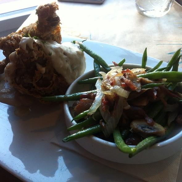 Fried Chicken And Pork Belly - Interstate Kitchen & Bar, Denver, CO