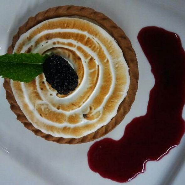 Key Lime Tart with Italian Merinque  - Buttonwood Grill, Lahaska, PA