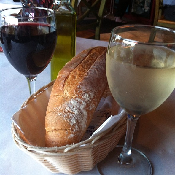 Red Wine, White Wine And Warm Bread - La Gondola - Ashland, Chicago, IL