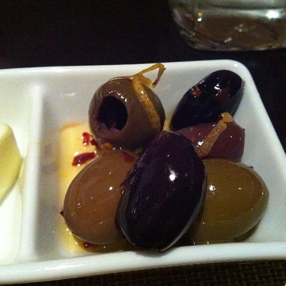 Spicy Orange Olives - SEAR, Atlanta, GA