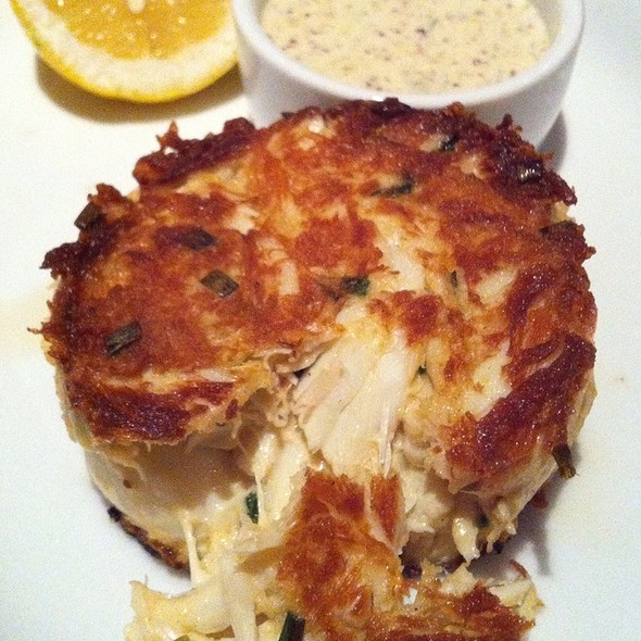 Lump Crab Cake - SEAR, Atlanta, GA