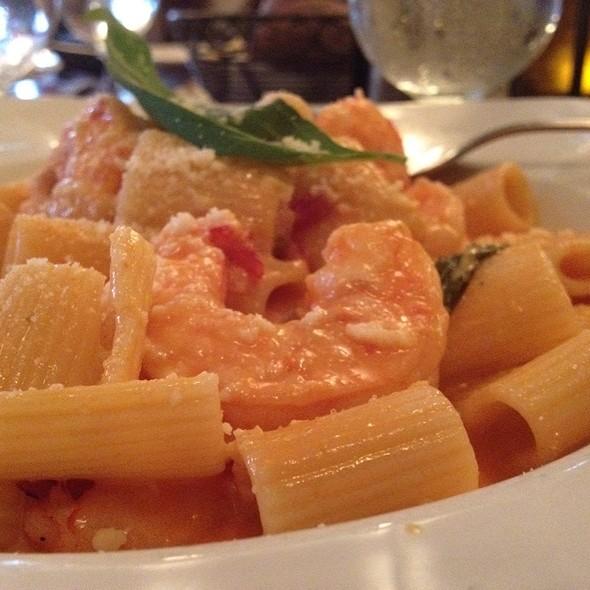 Mezza Rigatoni With Shrimp - Meta, Oceanside, NY