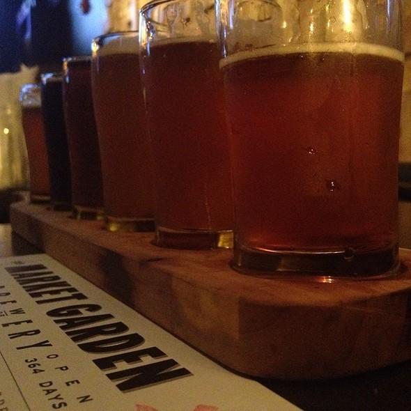 Beer Sampler - Market Garden Brewery, Cleveland, OH