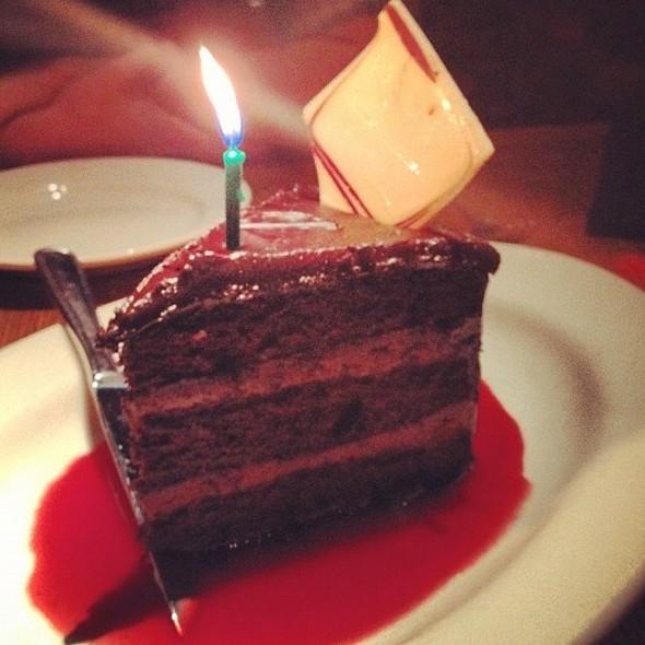 Chocolate Cake - Hibiscus Restaurant, Morristown, NJ