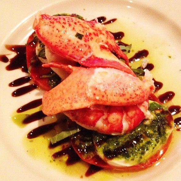 Lobster Caprese - Rabia's, Boston, MA