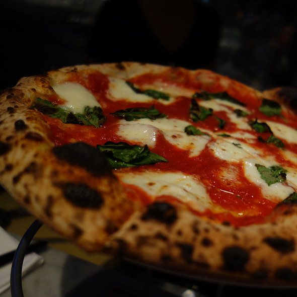 Margherita Za - Cupola Pizzeria, San Francisco, CA