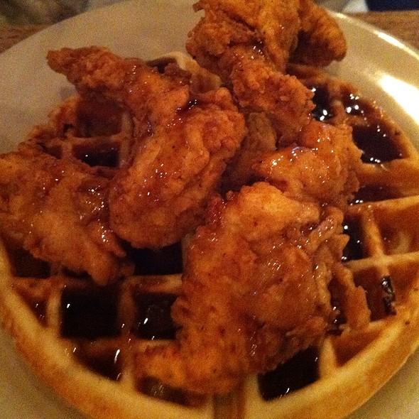 Chicken and Waffles - Puckett's 5th & Church, Nashville, TN