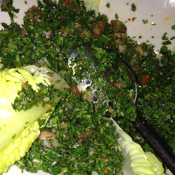 Tabouleh - Mantee Cafe, Studio City, CA