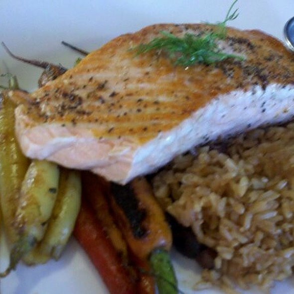 Grilled Salmon - Earls Kitchen + Bar - Park Meadows, Lone Tree, CO