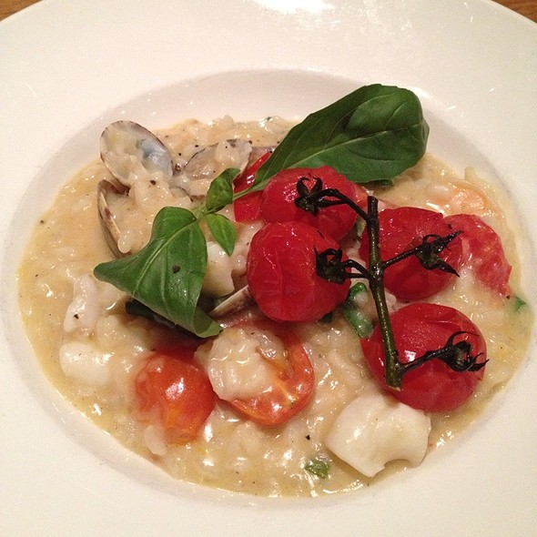 Risotto - Ponti's Italian Kitchen - John Princes Street, London