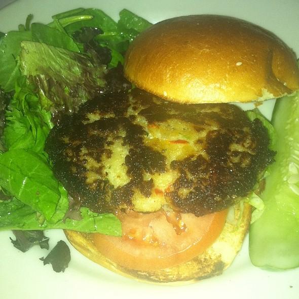 Crabcake Sandwich - Red Stripe, Providence, RI