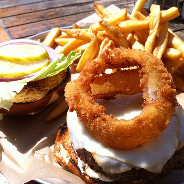 The Locavore Burger - Rockit Burger Bar, Chicago, IL