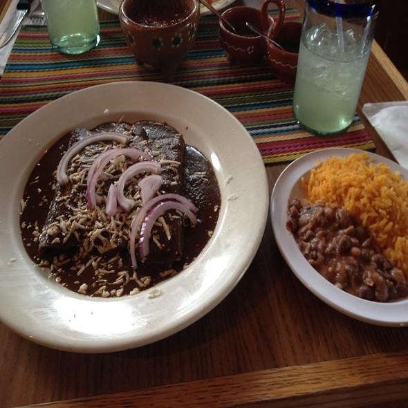 Cheese Enchilada De Mole - La Frontera Mexican Grill, Hackensack, NJ