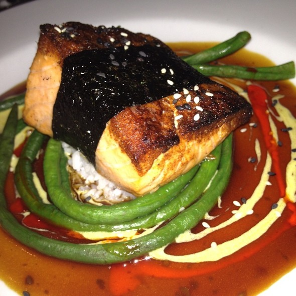Sugar-Spiced Salmon - House of Tricks, Tempe, AZ