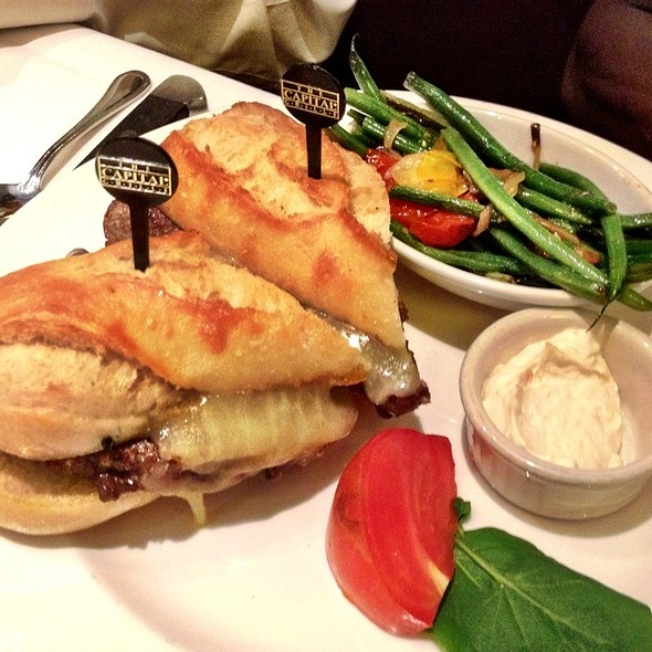 Ribeye Steak Sandwich - The Capital Grille - Seattle, Seattle, WA