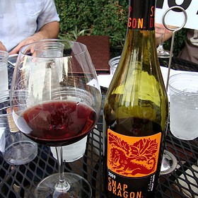 Snap Dragon Pinot Noir - The Tasting Room - Uptown Park, Houston, TX