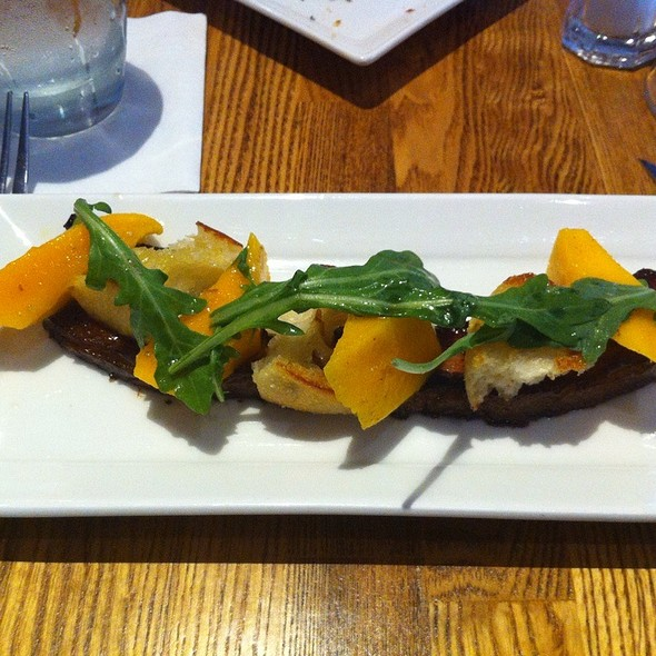 Bacon With Mango - Sides Hardware and Shoes - A Brothers Restaurant, Los Olivos, CA