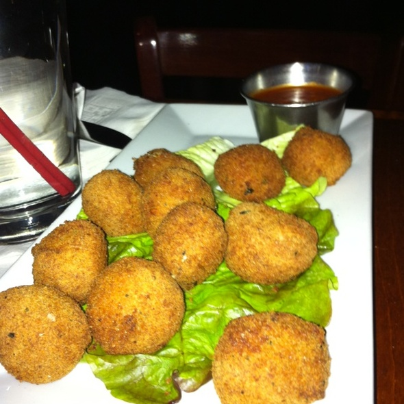 Fried Mozzarella Bites - Faces and Names, New York, NY