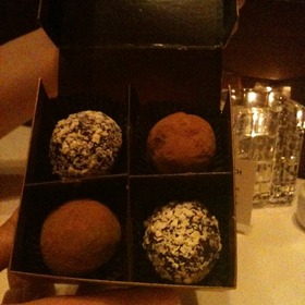 Happy Birthday Dessert - Fleming's Steakhouse - Tulsa, Tulsa, OK