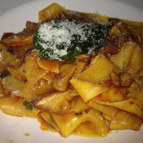 Pappardelle With Mushrooms - Antonello Ristorante, Santa Ana, CA