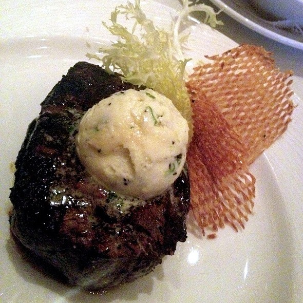 Filet Mignon With Truffle Butter - Eddie Merlot's - Warrenville, Warrenville, IL