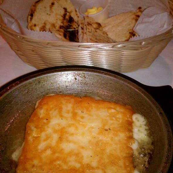 Flaming Saganaki Cheese - Olympia Cafe, Palm Beach Gardens, FL