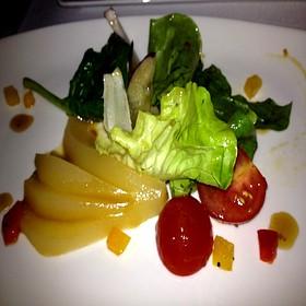 Goat Cheese & Pear Salad - Sugo Italian Food & Wine, Calgary, AB
