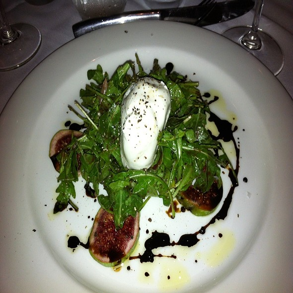 Black Fig  And Burrata Salad - Wine Cask - Santa Barbara, Santa Barbara, CA