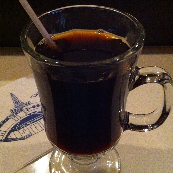 Hot Coffee - Joe Theismann's Restaurant, Alexandria, VA