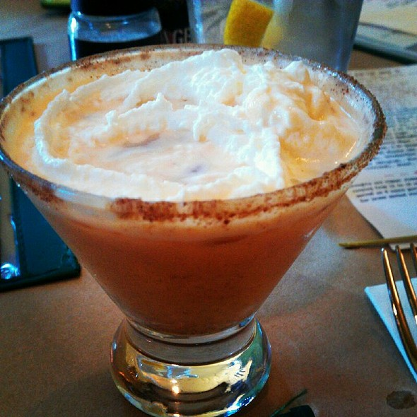 Pumpkin Spice Martini - Backstage, Torrington, CT