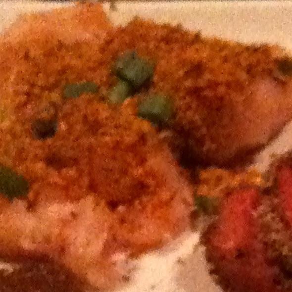 herb-crusted all-natural chicken breast  - The Melting Pot - Kansas City, Kansas City, MO
