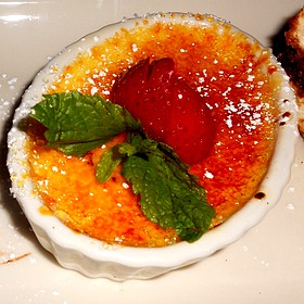 Créme Brulé Mini Dessert - Maggiano's - Milwaukee, Wauwatosa, WI