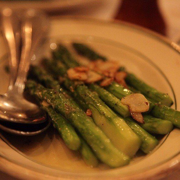 Asparagus - Benjamin Steakhouse, New York, NY